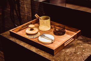 bambus, drewniane szczteczki