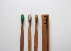 drewniane szczoteczki, less waste